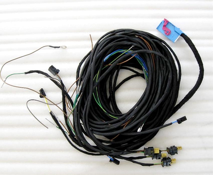 Sistema de cables de entrada sin llave KESSY, mazo de cables de sistema de arranque para Audi A4 B8 Q5
