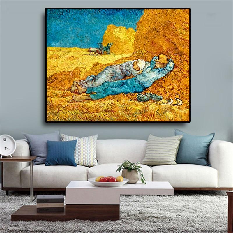 Pintura al óleo sobre lienzo Vincent Van Gogh, pósteres e impresiones en...