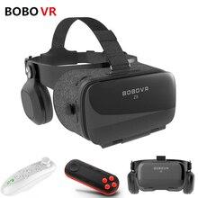 2018 BOBOVR Z5 120 FOV 3D Cartone Casco di Realtà Virtuale Vr Occhiali Box Android Cartone Stereo Auricolare Box per 4.7-6.2 del telefono