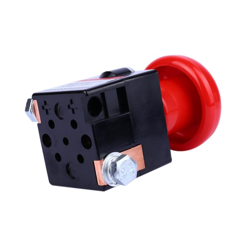 Interruptor de batería WUPP 1 Uds. 12V 24V 250V 150A cableado de doble cara parada de emergencia alimentación de corriente directa 58,8 MM dropship 19A23