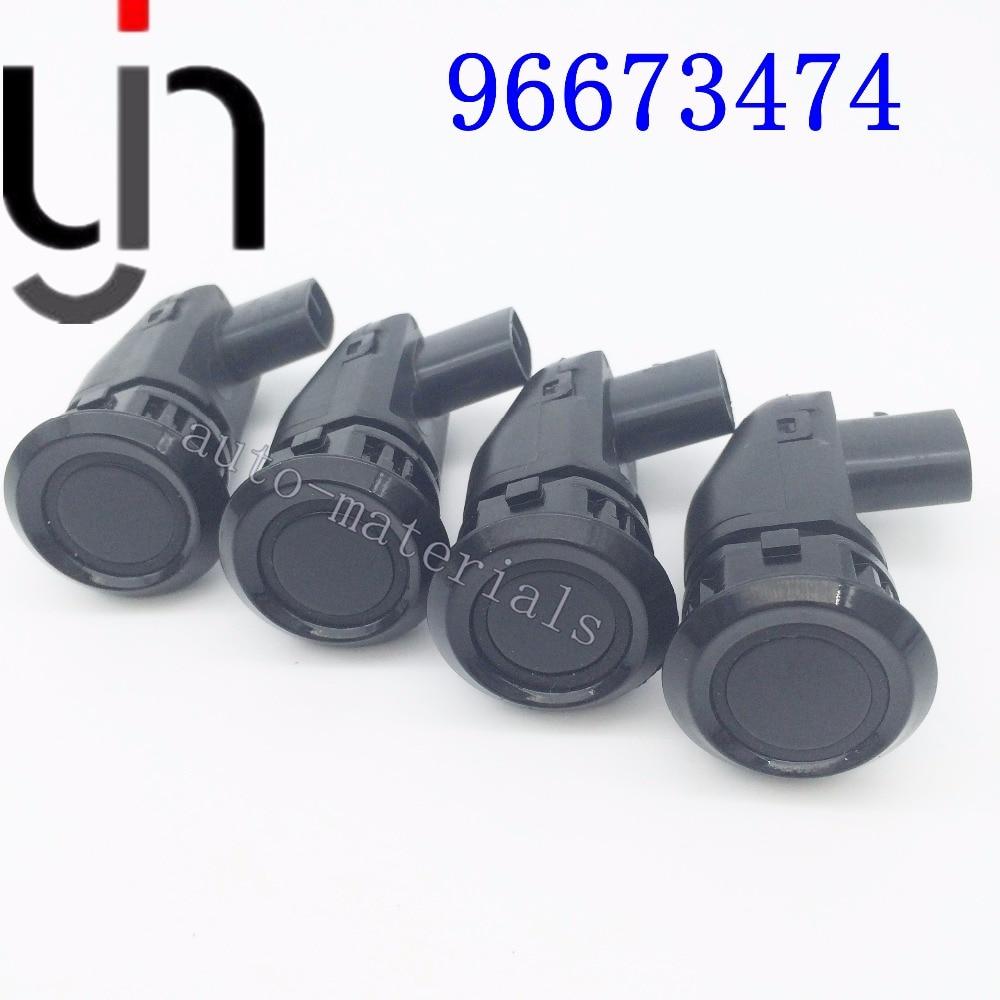 4 шт., Автомобильный датчик парковки для Chevrolet Captiva 96673467 96673464 96673474 96673471, черный, белый, серебристый
