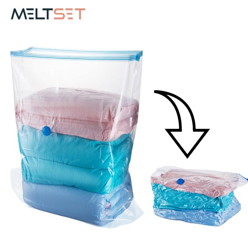 3 Demension вакуумные сумки для одеяла подушки сумка для хранения одежды Компактный органайзер для шкафа, гардероба прозрачный пакет на молнии