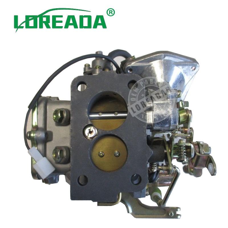 Conjunto de carburador LOREADA 21100-44360 2110044360 compatible con el suministro de combustible del motor TOYOTA 5R