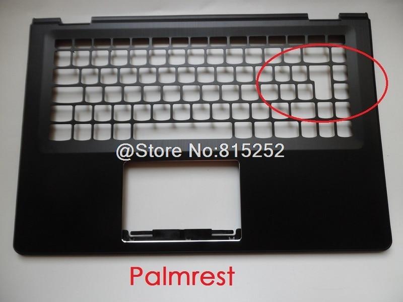 Подставка для рук для Lenovo 500-14 YOGA 500-14IBD Flex 3 14 Flex 3-1470 US UK раскладка верхней части корпуса клавиатуры Рамка крышка новая