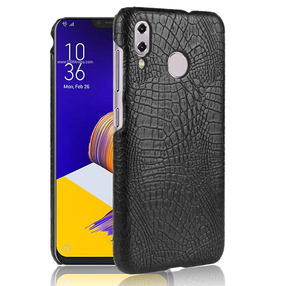 Subin caso para asus zenfone 5z zs620kl moda pele de crocodilo couro capa de telefone de plástico duro para asus zenfone 5 ze620kl casos