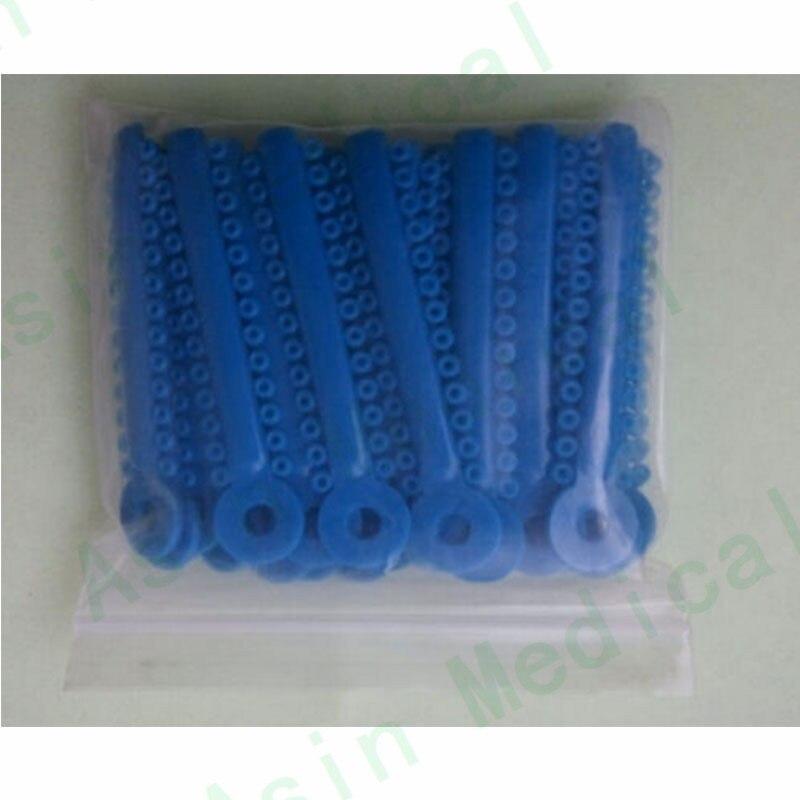 DEASIN, 2 paquetes de ortodoncia Dental, Ligadura elastomérica, corbatas, tirantes, azul, nuevo
