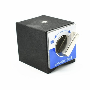 On/OffNdFeB Magnetic Base Stand Holder W50*H55 mm Powerful Button Industrial Magnetic Holder Perfect for Hanging Lifting