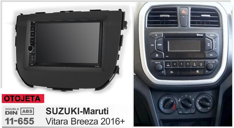 Navirider Android 8,1 reproductor de cinta estéreo multimedia para coche (marco + radio) serie adecuada para maruti suzuki vitara breeza