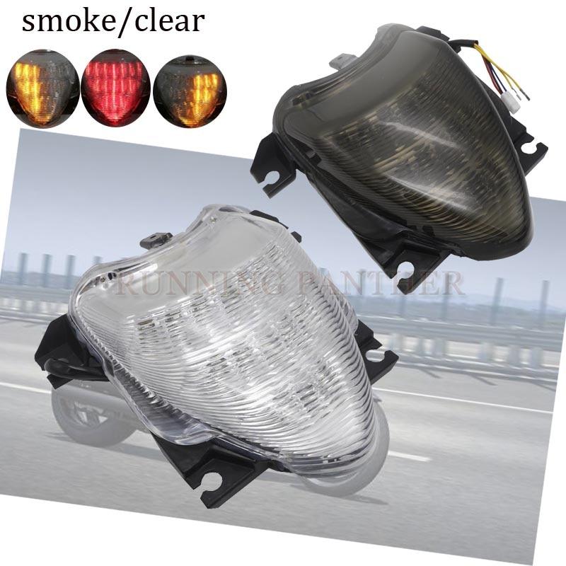 مصباح خلفي LED متكامل للدراجات النارية ، مصباح تحذير الفرامل ، توقف ، لسوزوكي ستريت M109R M1800R VZR1800