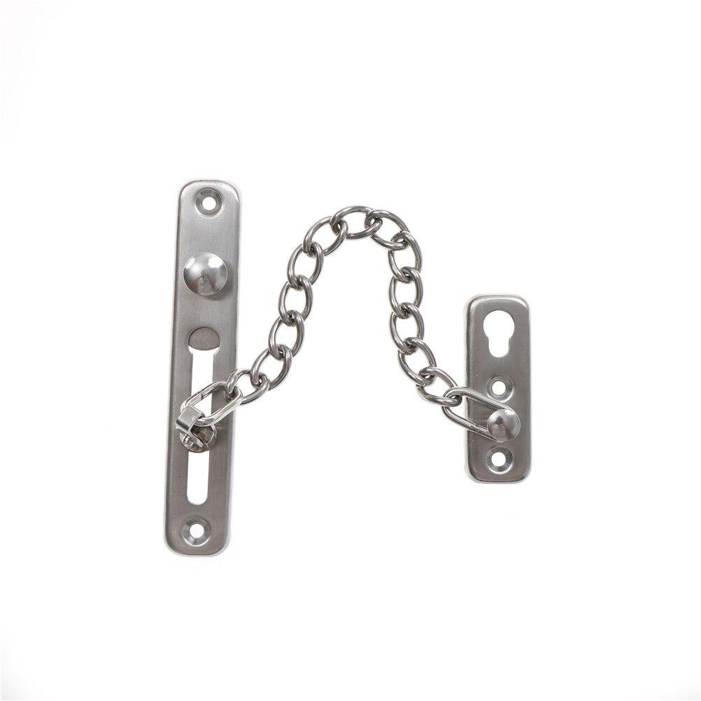 Практичная нержавеющая сталь, Современная дверная цепь, дверная цепь, дверная цепь для безопасности, замок дверной цепи