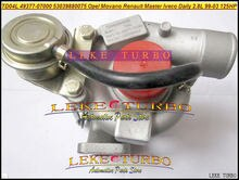 TD04L turbocompresseur 454126-751578   454126-0001, 751578 à Turbo, Movano Master IVECO quotidien 2,8l TD 0001-03 1999 S. 8140.43, 125HP