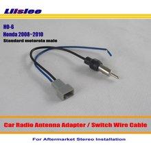 Liislee Per Honda Accord/CRV/Civic/Insight/Odyssey/Fit/FRV/Jazz-Auto radio Antenna Adattatore Stereo Antenna Cavo di Filo
