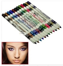12 pièces de crayon Eyeliner de couleur différente maquillage stylo étanche maquiagem pinceis facile à utiliser maquillaje outils livraison gratuite