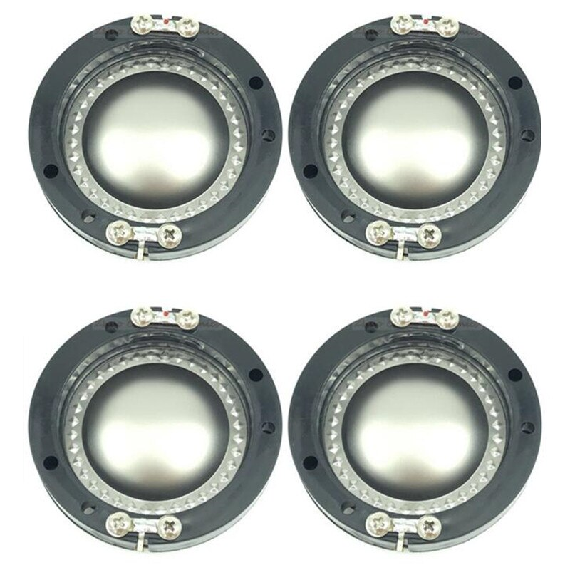4 stücke 44,4mm 44,5mm lautsprecher schwingspule lautsprecher komponenten Hochtöner Lautsprecher Dome membran Ersetzen Stimme spule
