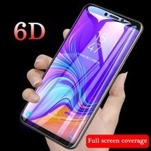 6D полное покрытие закаленное стекло для Samsung Galaxy A7 2018 9H Защитное стекло для экрана для Samsung Galaxy J4 J6 A6 A8 A9 Plus 2018