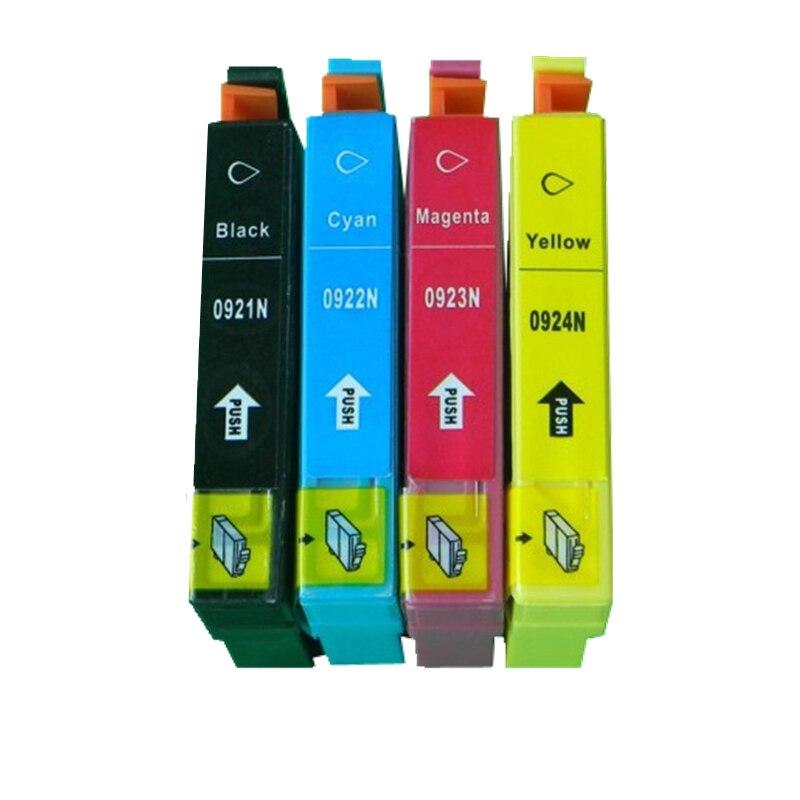 Cartucho de tinta Compatible para EPSON T26 T27 TX106 TX109 TX117 TX119 C51 C91 CX4300 impresora