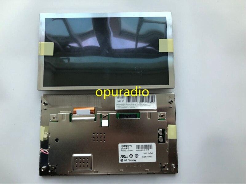 """Envío gratuito nuevo Original 8,0 """"800*480 pantalla LCD LB080WV6 (TA) (03) panel LCD LB080WV6-TA03 para piezas de automóviles"""