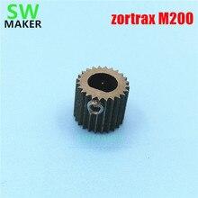SWMAKER 1 pcs zortrax M200 3D imprimante pièces de rechange/accessoires extrudeuse entraînement engrenage