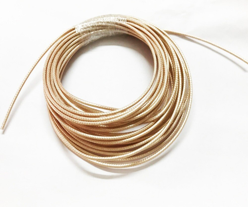 Cables coaxiales de 10m RG316, cable coaxial RF de 50 Ohm para conector de engarce de 20m 30m 50m 100m