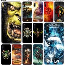 World of Warcraft coque en silicone Pour Xiaomi Pocophone F1 9 T 9 9SE 8 A2 Lite A1 A2 Mix3 Redmi K20 7A Note 4 4X5 6 7 Pro S2 Couverture