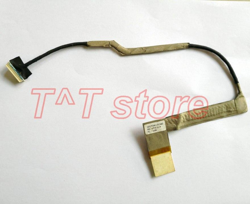 Novo original para CLEVO P170HM LCD CABO LVDS 6-43-P1701-012-3H bom teste frete grátis