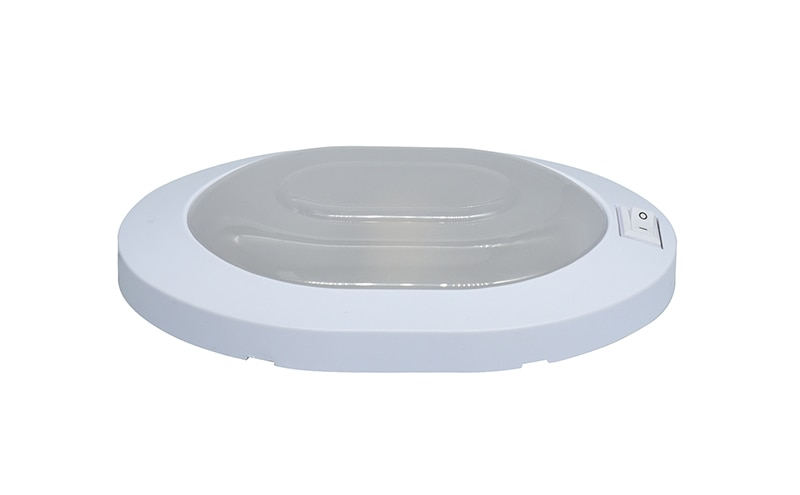 4W LED Ceiling Dome Light Plastic Oval Lamp for 12V Marine Boat Motorhome Accessories