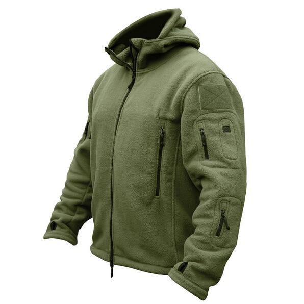 Militaire Man Fleece Tactische Softshell Jas Polartec Thermische Polar Hooded Bovenkleding Jas Leger Kleding