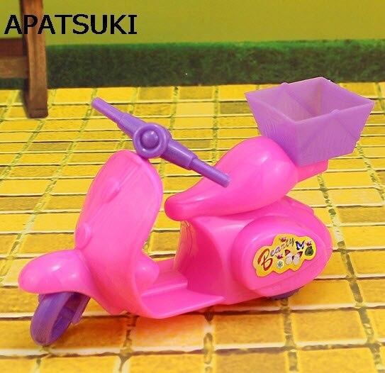 Juguetes para niños, casa de juegos, accesorios para muñecas, motocicleta, bicicleta para Barbie, casa de muñecas, Motor para 1/12, accesorios para muñecas Kelly