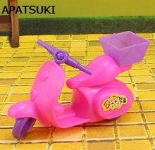 Enfants jouet enfants jouer maison poupée accessoires moto vélo pour Barbie maison de poupée moteur pour 1/12 Kelly poupées accessoires