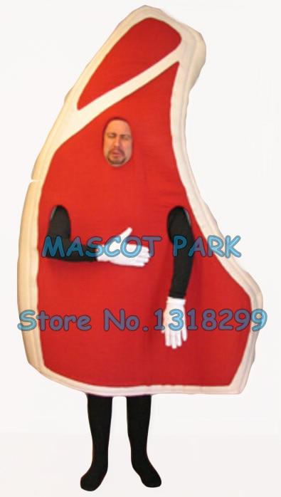 Chuleta de cerdo mascota disfraz adulto tamaño Venta caliente de dibujos animados de cerdo de alimentos de carne tema anime cosply trajes de disfraces de Carnaval kits 2806