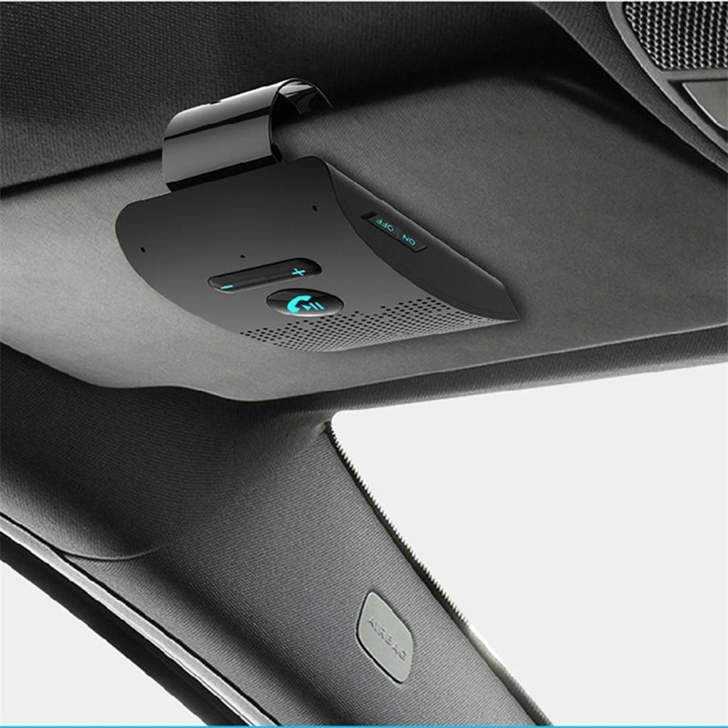 RUNDONG AUTO accessoriesparasol universal Kit de coche bluetooth inalámbrico llamada con manos libres altavoz teléfono Visor para Phone19Apl8