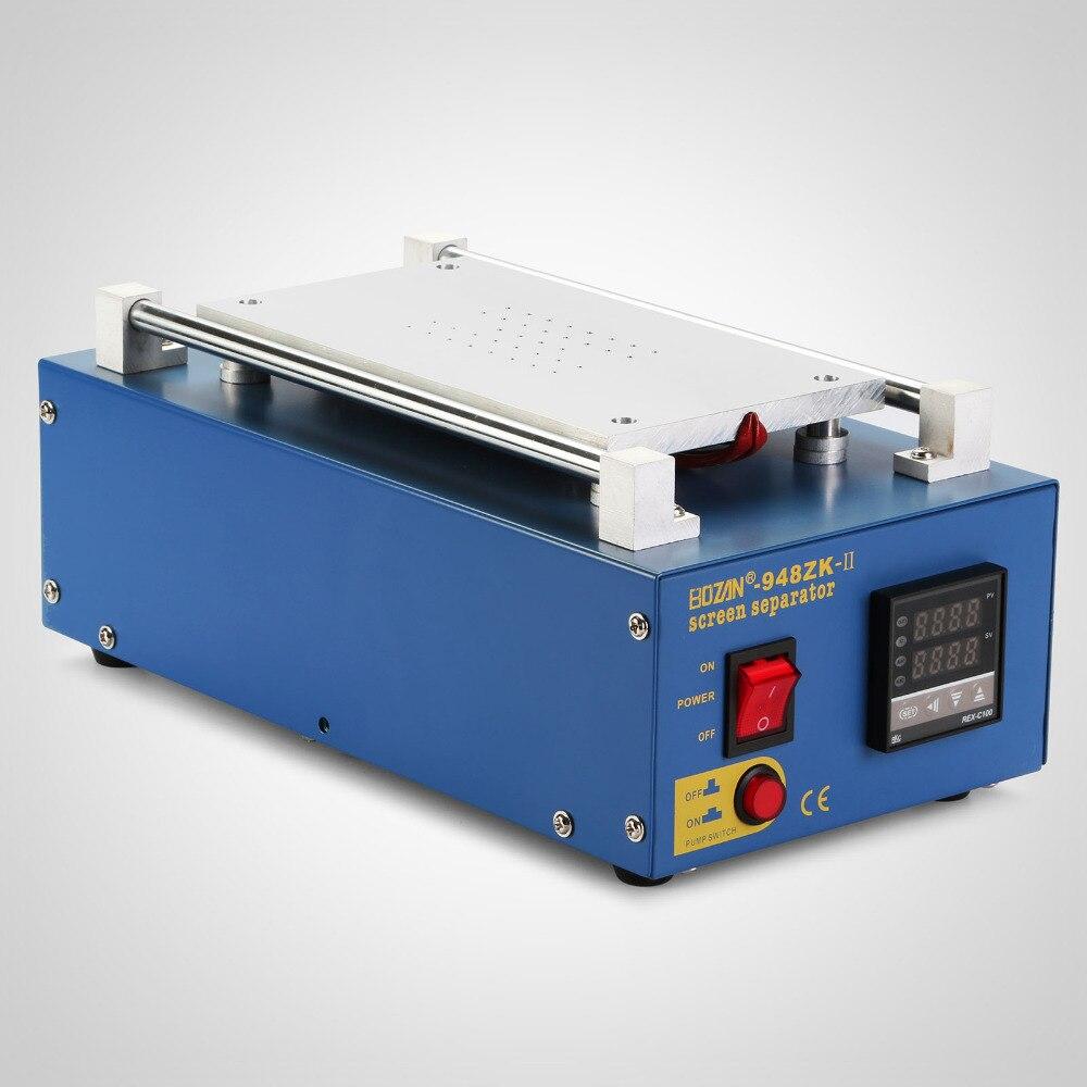 Separador de pantalla LCD al vacío 2 en 1, máquina separada, bombas integradas de pantalla táctil