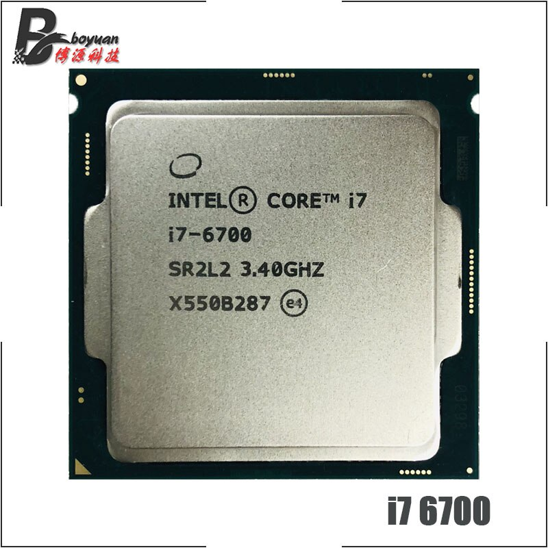 I7-6700 Intel Core i7 6700 3,4 GHz Quad-core, ocho hilos, 65w CPU, procesador LGA 1151