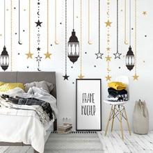 New Muslim Vinyl Wall Sticker Decals Home Decor Bedroom Ramadan Ramadhan Kareem Islam Wall Stickers Home decor Best Selling B1