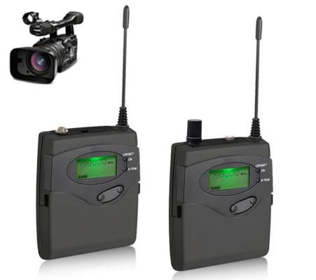 كاميرا فيديو DSLR ميكروفون مسجل صوت لاسلكي DSLR ميكروفون للتسجيل في الخارج مقابلة تصوير فيديو DV محمول