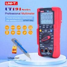 UT191E/UT191T Professional Digital Multimeter,True RMS IP65 Waterproof,6000 Count DMM 20A Ammeter 600V Volt ACV LOZ LPF Tester