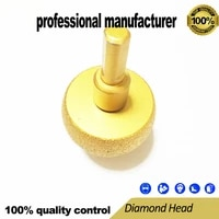 vacuum brazed diamond polishing head gringding head for marble granite brick glassess and tiles and fast delivery