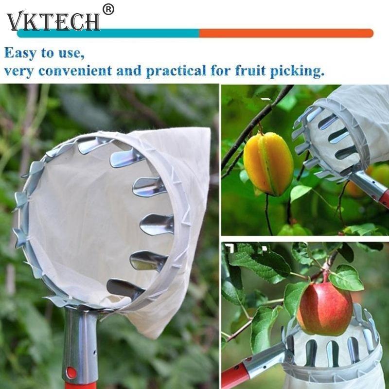 Kovový sběrač ovoce, zahradnictví sadů, nářadí na sběr - Zahradní nářadí - Fotografie 5