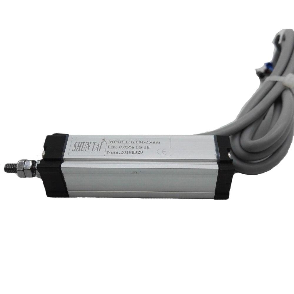 KTM-125MM 250mm 300mm Rod linear displacement transducer Voltage Output 0.1% LVDT sensor 5k Ohm Used for packing machine