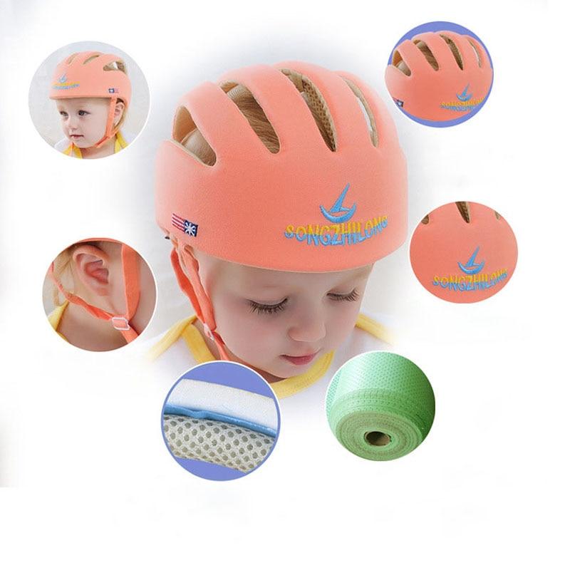 Casco de seguridad para bebé, casco de protección para bebés, niñas, sombreros de protección de algodón para niños, gorra para niños y niñas, accesorios, gorra
