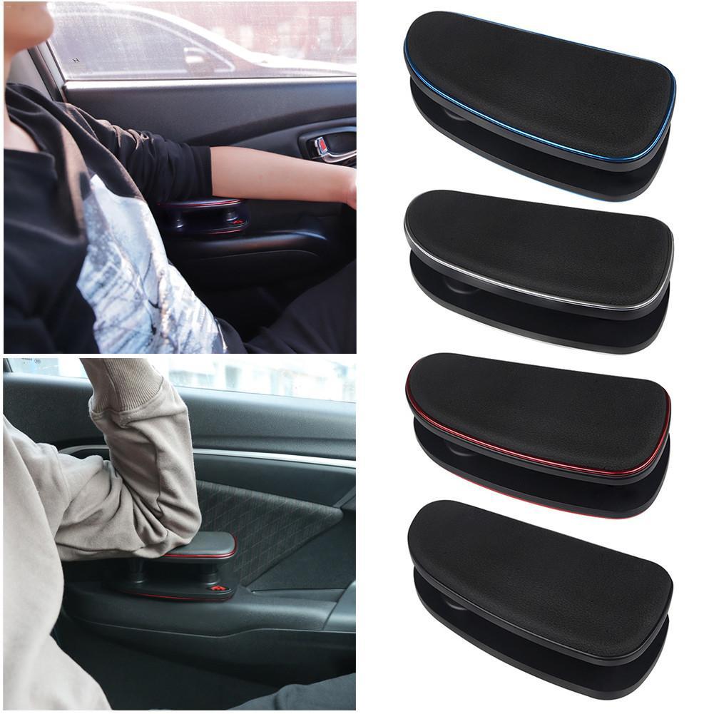 Car Universal Anti-fatigue Adjustment Car Left Hand Armrest Elbow Support Bracket Installation Silicone Mat