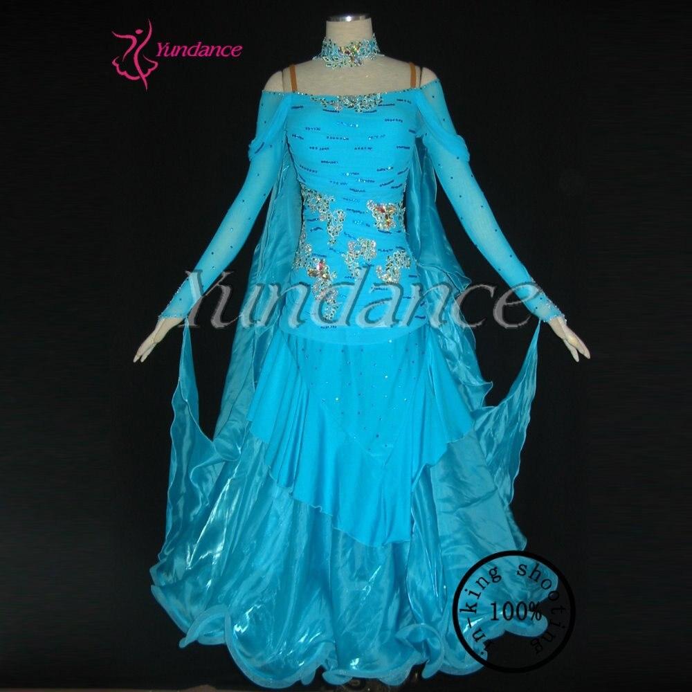 Professional women's ballroom dance dresses standard waltz B-1198