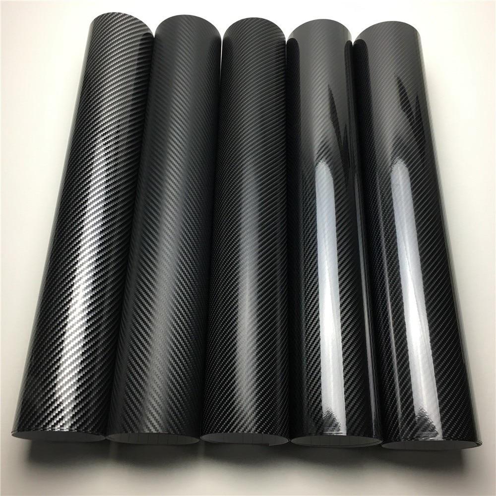 2D 3D 4D 5D 6D Carbon Fiber Vinyl Wrap Film Car Wrapping Foil Console Computer Laptop Skin Phone Cover Motorcycle