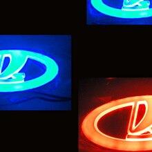 Freies Verschiffen zu Russland 4D LED Auto LOGO Licht/Lampe 4D LED auto abzeichen licht für UAZ Lada Samara 2110 2112 2113 2114 2115