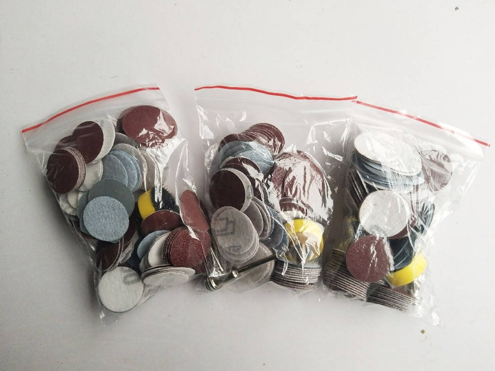 Discos de lijado de alta calidad de 100 piezas de 25 mm + placa de - Herramientas abrasivas - foto 5