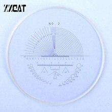 948 lunettes optiques X règle micromètre de scène oculaire réticule étalonnage diapositive pour Microscope Angle Dot règle mesure