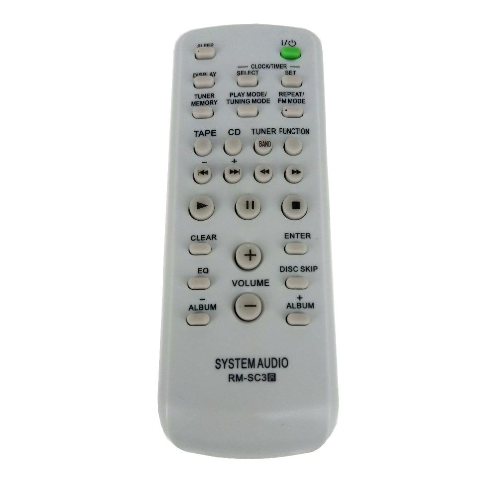 NOVA Substituição para SONY CD HIFI Sistema de Áudio controle Remoto RM-SC3 para CMTCP555 CMTHPX7 CMTNE5 LBTZX6 LBTZX8 LBTZX9 MHCGX250