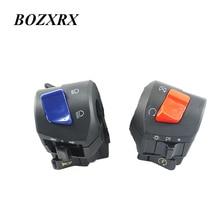 BOZXRX-interrupteur dallumage Harley Honda Suzuki Yamaha   7/8