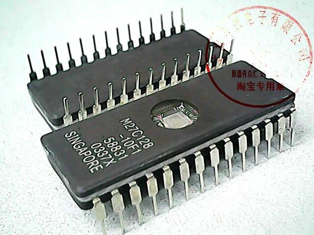10 шт./лот M27C128-10F1 27C128 CDIP-28 в наличии