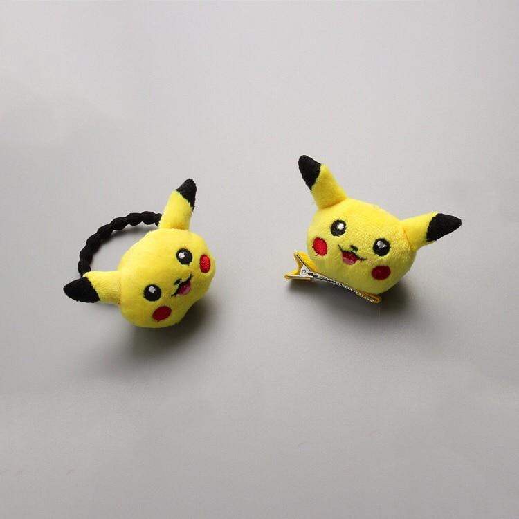 1 PCS  Newly Design Pikachu Hairpins Children Headdress Girls Hair Clips Headwear Baby Hair Accessories